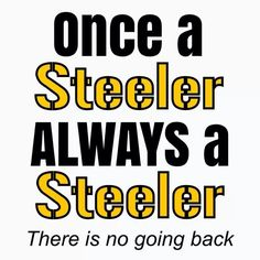 Let's Go! #Pittsburgh Steelers!✨