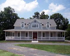 Plan W2064GA: Farmhouse, Country, Photo Gallery House Plans & Home Designs