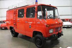 1974 Mercedes-Benz Ambulance 408 Quad Cag | GR Auto Gallery