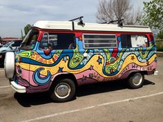 VW Bus - painted