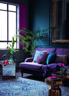 Blue Living Room Decor - What color represents happy? Blue Living Room Decor - Is Green a good Colour for a living room? Living Room Green, Living Room Paint, Living Room Colors, Small Living Rooms, New Living Room, Bedroom Colors, Living Room Furniture, Living Room Designs, Bedroom Ideas