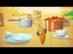 A table les enfants ! - La carotte - Episode en entier - Exclusivité Disney Junior ! - YouTube Nutrition, Disney Junior, A Table, Clay, Capsule Video, Films, Homeschooling, Barn, Children