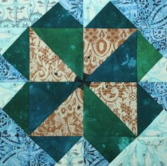 Mice Wheel Quilt ... by PersimonDreams | Quilting Pattern - Looking for your next project? You're going to love Mice Wheel Quilt Block Tutorial by designer PersimonDreams. - via @Craftsy