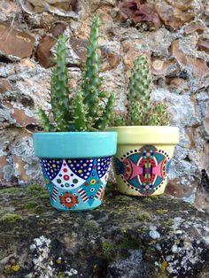Bote pequeño de flores de cactus / suculentas