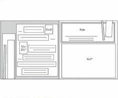 Scrapbook Page Sketch 176