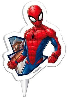 Vela de cumpleaños de Spiderman.  #spiderman #cumpleañosspiderman #fiestaspiderman #spidermanparty #spidermanbday