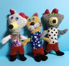 Toy 2, Tiny Dolls, Tiny Treasures, Sewing Box, Soft Sculpture, Fabric Dolls, Handmade Toys, Softies, Doll Toys