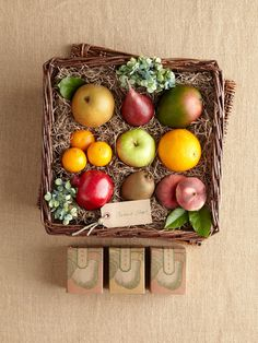 Variety of fresh fruit, dried apricots, dried cherries and roasted almonds
