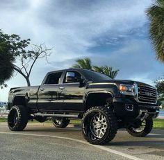 jacked up trucks chevy Gmc Trucks, Lifted Chevy Trucks, Jeep Truck, Diesel Trucks, Cool Trucks, Pickup Trucks, Chevy 4x4, Lifted Duramax, Gmc Diesel