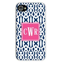 iPhone 5 Monogrammed case!