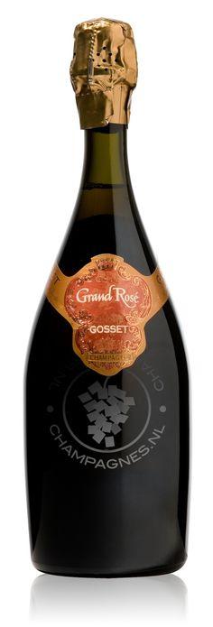 Gosset Grand Rose Champagne Bestellen - Champagnes.nl