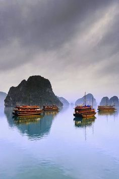 Halong Bay, The Dragon Bay, Vietnam