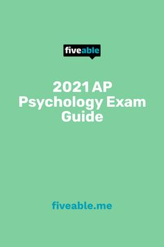 Ap Psychology Exam, Exam Guide, College Board, Need To Know, Study, Education, Studio, Studying, Onderwijs