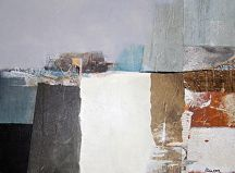 """Remixed Formations by Virginia Cole Mixed Water Medium ~ 12"""" x 16"""""""