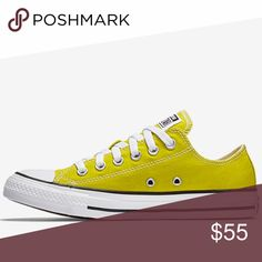Authentic Converse men size 10 woman 12 Brand new no trade no Paypal no lowballing men size 10 woman 12 UK 10 EUR 44 CM 28.5.   Canvas upper in a classic sneaker style Lace-up closure Rubber toe cap Striped rubber midsole Vulcanized rubber outsole Converse Shoes Sneakers