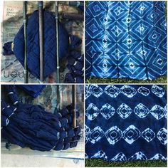 It was SO fun to unwrap all of our Shibori surprises! No lie, I screamed for joy…