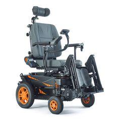 电动轮椅 / 带脚托 / 带头枕 / 倾斜 TOPCHAIR-S TOPCHAIR