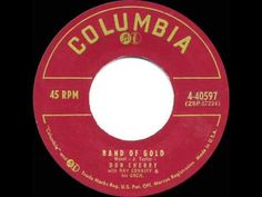 1956 HITS ARCHIVE: Band Of Gold - Don Cherry - YouTube