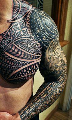 Tongan tatau // Quiero uno de estos