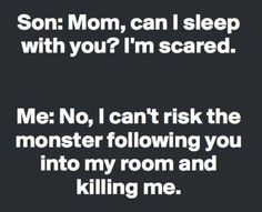 23 Funny Quotes I sleep a lot too. Hmm. My advice is the best! Seems okay. Get it together! Game. Face. Make that coffee! So it seems. I'm not normal! A little rude but yes. He will murder you. Me as a parent? I'm whole. Or a door. Bye today. Be very wise. Kids. Nope. …