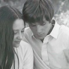 """Olivia said, """"One of the first photos of Leonard and I as Romeo&JulietHappy Days,Happy memories"""""""