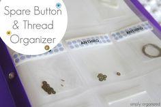 simply organized: organization contributor: organized buttons