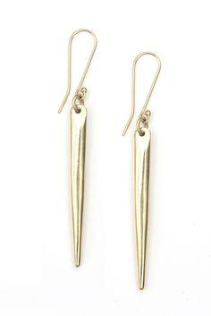 Soko Sasi Dangle Earring in Brass