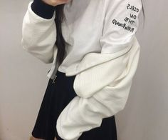 Image discovered by bruna. Find images and videos about girl, fashion and style on We Heart It - the app to get lost in what you love. Asian Fashion, Ulzzang Fashion, Kpop Fashion, American Apparel, Cool Kids, Hooded Jacket, Like4like, Cute Outfits, Fashion Outfits