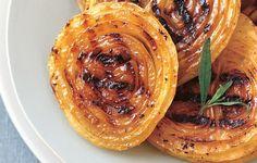 BBQ Onion Steaks with Honey-Mustard Sauce photo