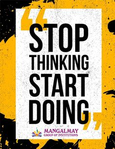 Stop Thinking, Delhi Ncr, College Fun, Thursday, Thoughts, Tanks