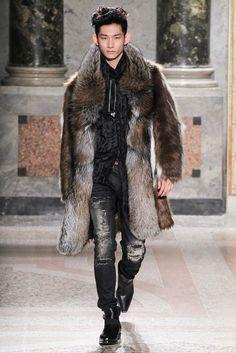 Roberto Cavalli Fall 2015 Menswear - Collection - Gallery - Style.com