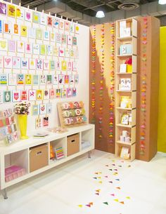 """our booth display at the new york gift fair « make something happy"""