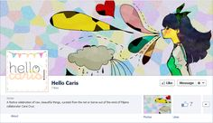 Just in: Hello Caris! on Facebook! Please do follow it and like the page! Thanks for being awesome.