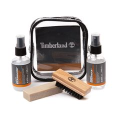 Shop for Timberland Product Care Cleaning Kit in  at Journeys Shoes. Shop today for the hottest brands in mens shoes and womens shoes at Journeys.com.Timberlands travelgift Product Care Cleaning Kit contains three products which offer the best possible care for your Timberland leather footwear - this is a great way to extend the life of your shoes or boots and maintain their authentic good looks. Includes Balm Proofer All-Purpose Protector, which protects cotton, polyester, canvas, leather…