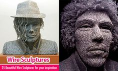 25 Beautiful Wire Sculptures around the world for your inspiration. Read full article: http://webneel.com/wire-sculpture | more http://webneel.com/sculptures | Follow us www.pinterest.com/webneel