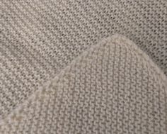 Garter Stitch Comfort Blanket Knitting pattern by Marie Mickiewicz Crochet Edging Patterns, Baby Patterns, Universal Yarn, Christmas Knitting Patterns, Dk Weight Yarn, Baby Scarf, Knitted Baby Blankets, Snuggle Blanket, Paintbox Yarn