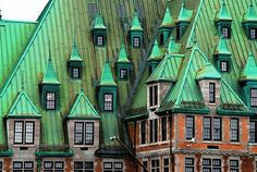 Quebec City, Canada -Rail  Station-Gare Gables - Bing -   Château Style architecture  OL