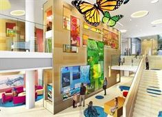 Interior Design of Golisano Children's Hospital to Be Soothing, Engaging - News Room - University of Rochester Medical Center