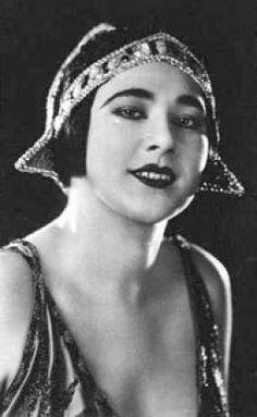 Nita Naldi, one of the most successful silent film stars of the 1920's