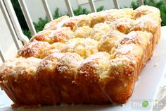 Pull Apart Lemon Bread