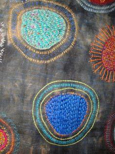 circles travellers blanket-