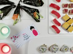 Bubblemint blog: #DIY #Sushi