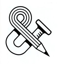 Ampersand logo (Design & Construct Associates); by Dave Epstein Inc. 1977