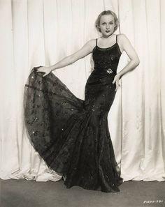 Carole Lombard style
