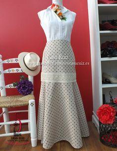 faldas flamencas para el camino