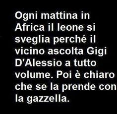 In Africa ..