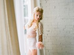 a bridal boudoir photo shoot brides