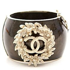 Chanel Cuff Bracelet Rare Collectors Item