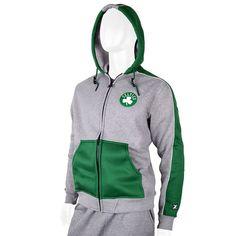Men's Zipway Boston Celtics Standard Issue Hoodie, Size: Medium, Grey