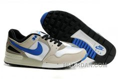 huge discount bde7b 19eab 344082 141 Nike Air Pegasus 89 Swan Medium Blue Black Neutral Grey AMFM0254  For Sale P7zie